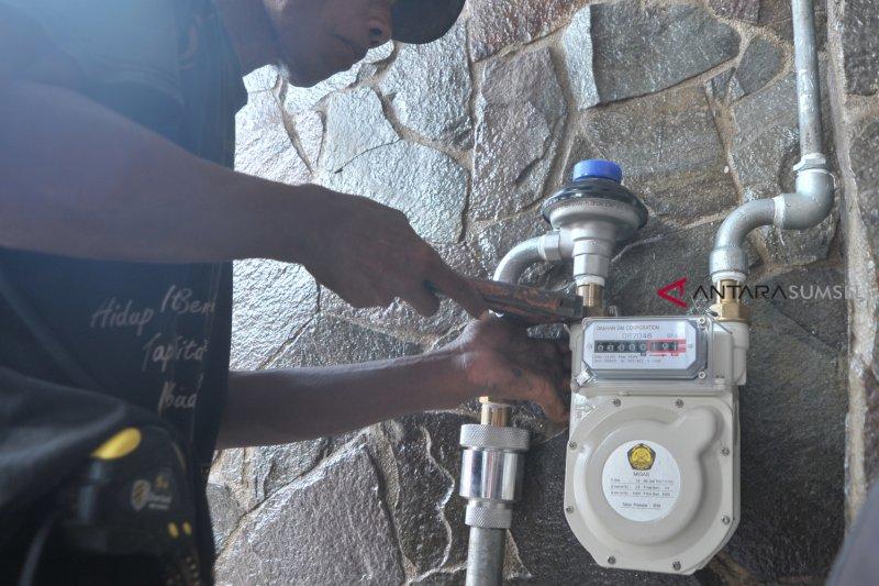 Jaringan gas Kota Palembang dilanjutkan di lima kecamatan