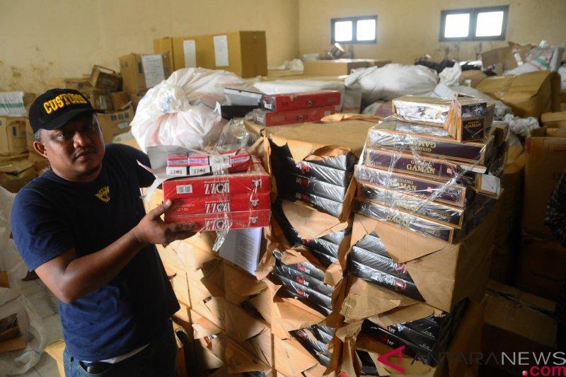 KPPBC Kudus selamatkan kerugian negara Rp13,33 miliar