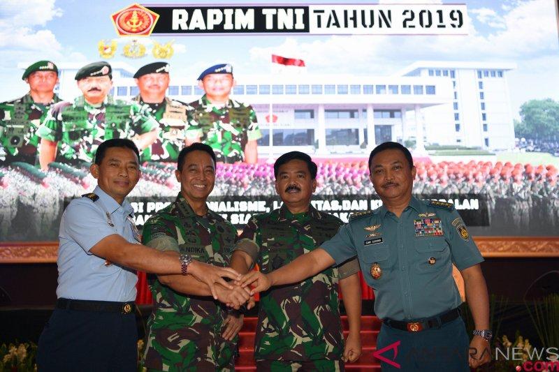 Penutupan Rapim TNI