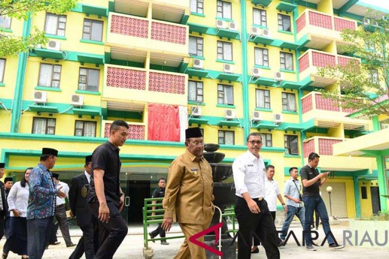 Riau Perbaiki Gedung Rusunawa Menjadi Asrama Haji