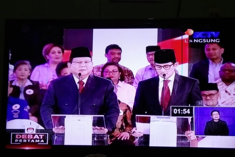 Debat Capres - Prabowo: terorisme dikirim dari negara lain