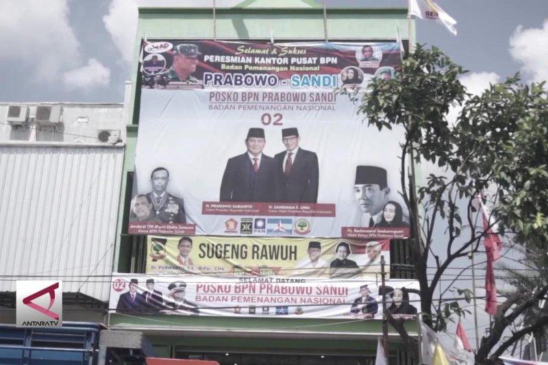 Posko pemenangan Prabowo dekat rumahnya, Jokowi santai