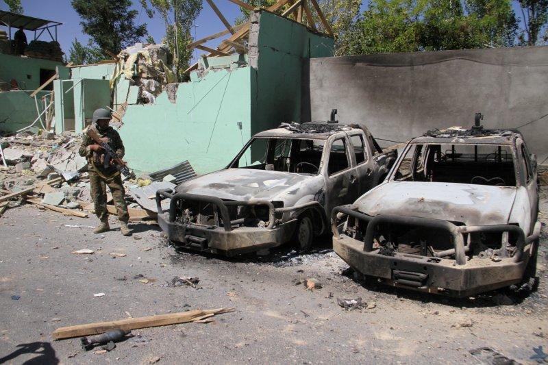 Taliban tewaskan belasan pasukan keamanan di pangkalan militer Afghanistan