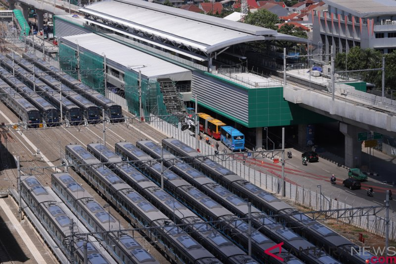 Tarif MRT tunggu putusan Pemprov DKI