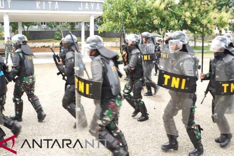 Lantamal Kupang gelar latihan pengamanan Pemilu 2019