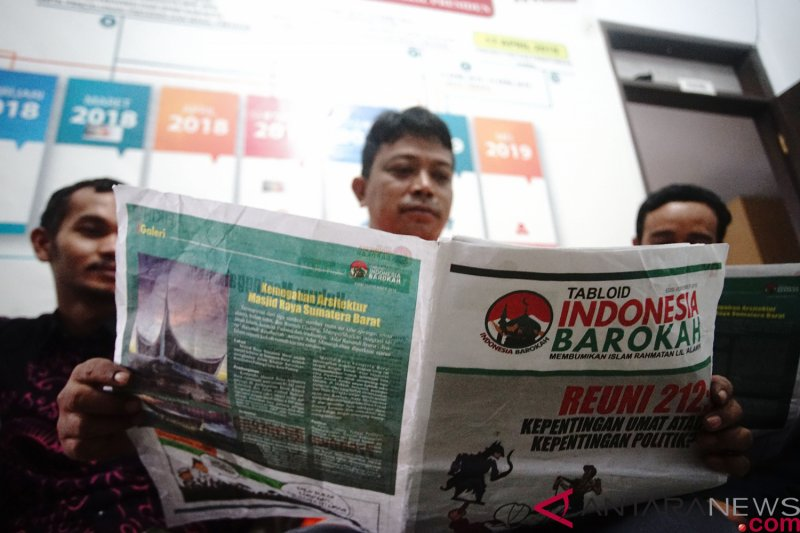 Bawaslu Lampung Timur temukan Tabloid Indonesia Barokah