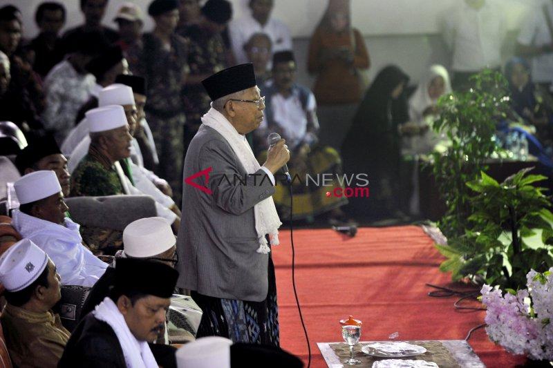 Ma'ruf Amin siap hadiri deklarasi