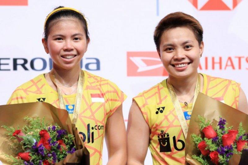 Takluk dari Jepang, Greysia/Apriyani runner-up Malaysia Masters 2019