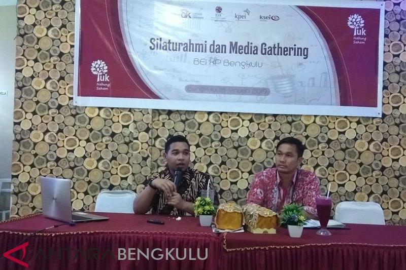 Transaksi saham investor di Bengkulu naik 20 persen