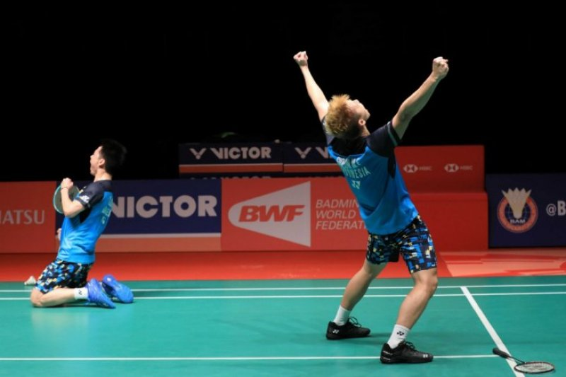 Kevin/Marcus rebut gelar juara Malaysia Masters