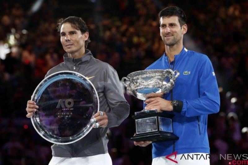 Jelang pertandingan bintang-bintang tenis dunia kunjungi Pangeran Albert di Monaco