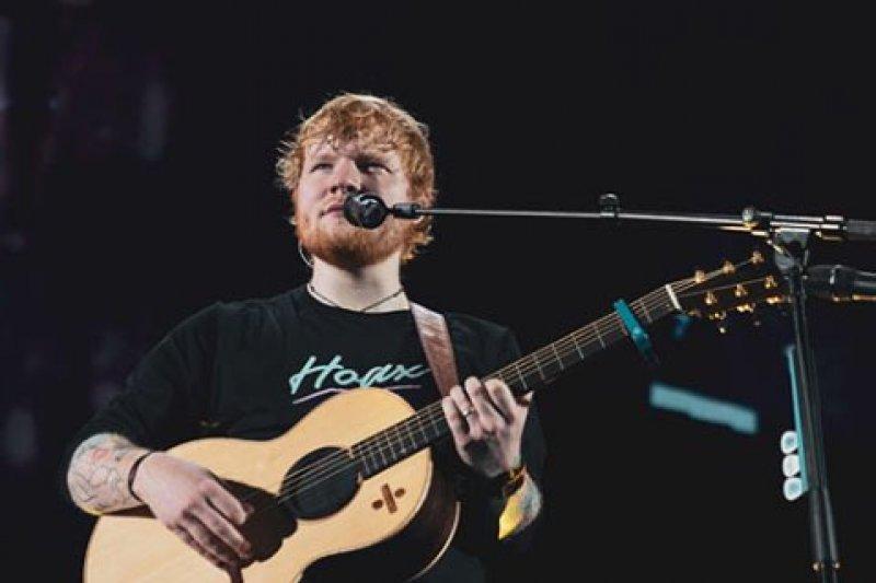 Makanan Indonesia favorit Ed Sheeran