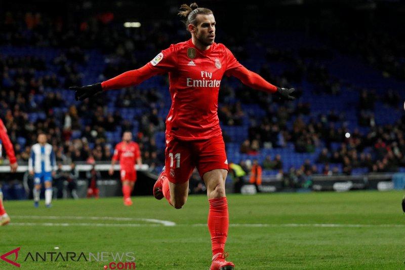 Bale cetak gol indah, Madrid tumbangkan Espanyol