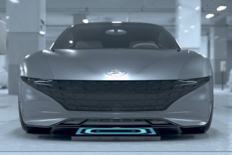 Peluncuran konsep parkir otomatis dan pengisian daya nirkabel dari Hyundai-Kia