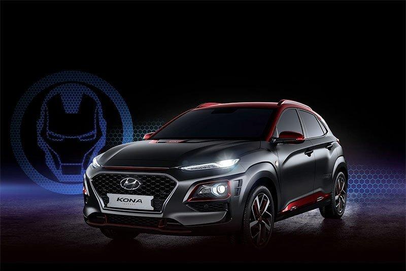 Hyundai segera rilis edisi Kona Iron Man bermesin turbo