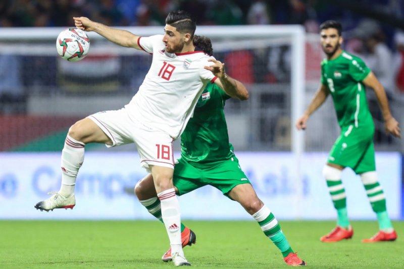 Laga Iran lawan Irak berakhir tanpa gol