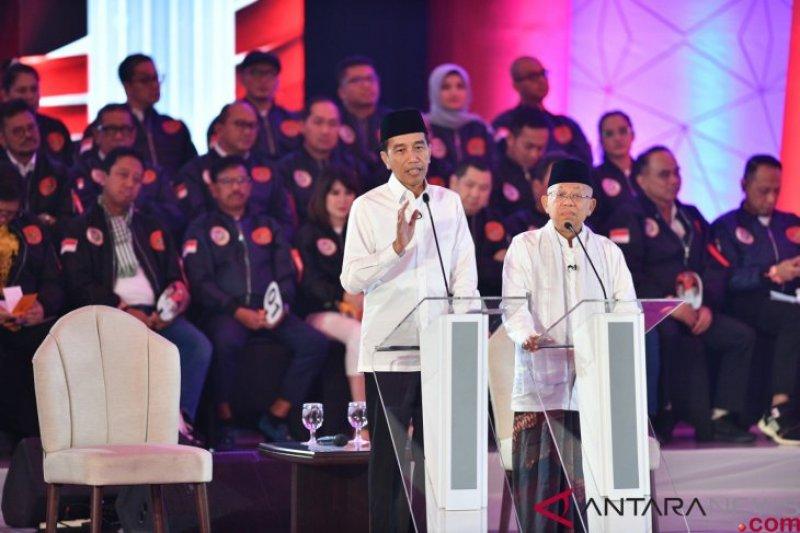 Jokowi bakal andalkan pencapaian infrastruktur pada debat kedua