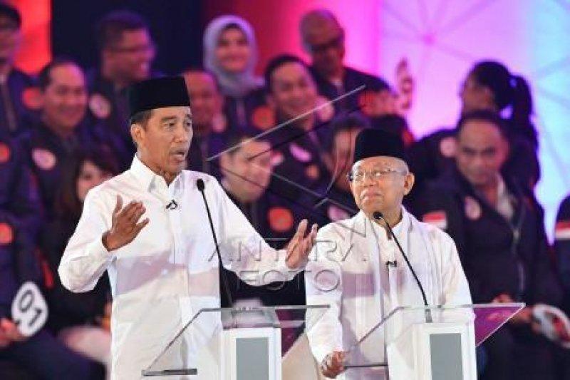 Jelang debat, Jokowi posting ini di media sosial