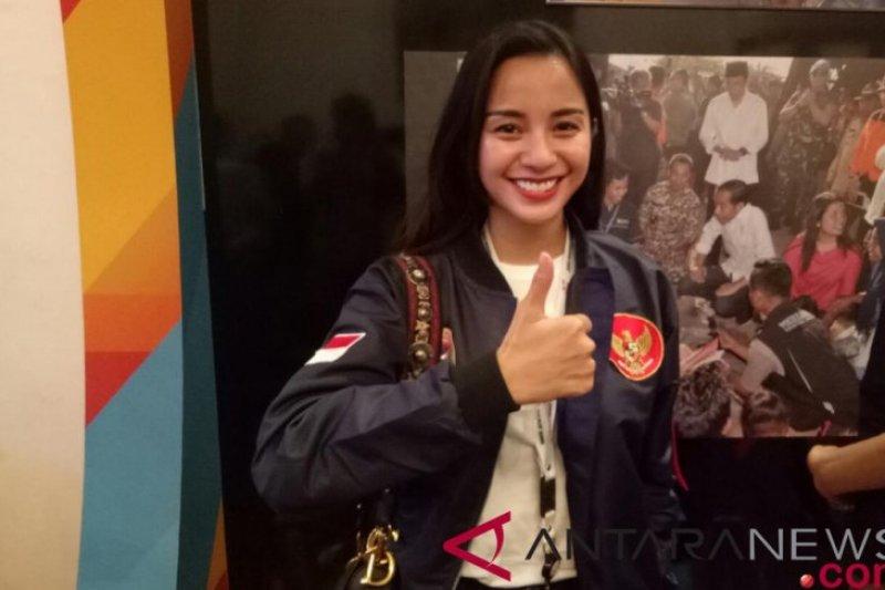 Kirana Larasati ucapkan selamat kepada Jokowi