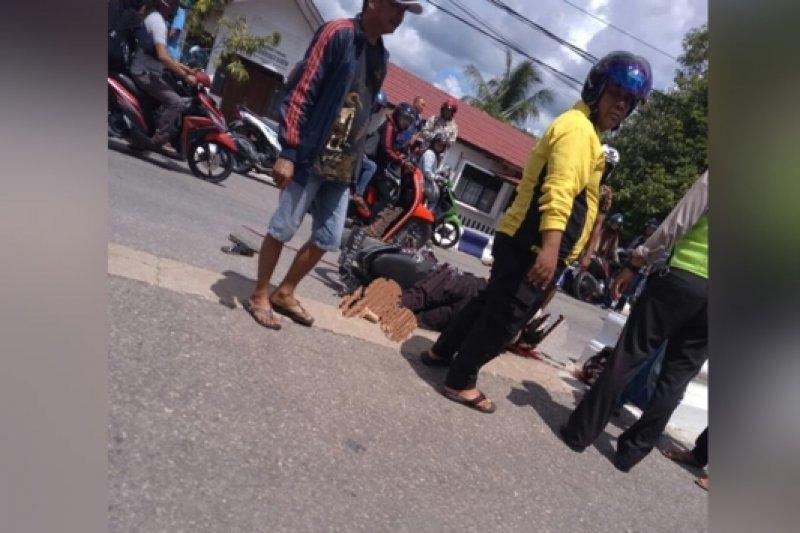 Kecelakaan beruntun di Kudus, lima orang luka