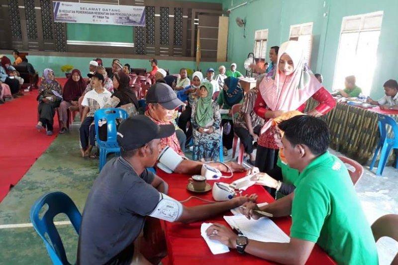 PT Timah Karimun target 3.000 warga ikuti pengobatan gratis