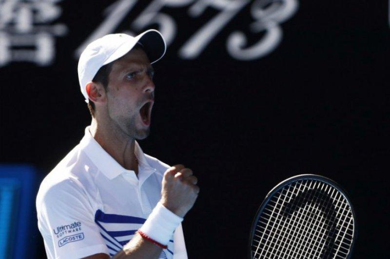 Sukses redam emosi, Djokovic atasi Shapovalov