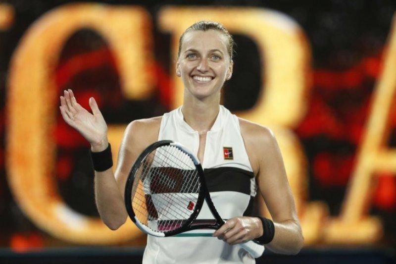 Kalahkan Collins, Kvitova melangkah ke final Australia Terbuka