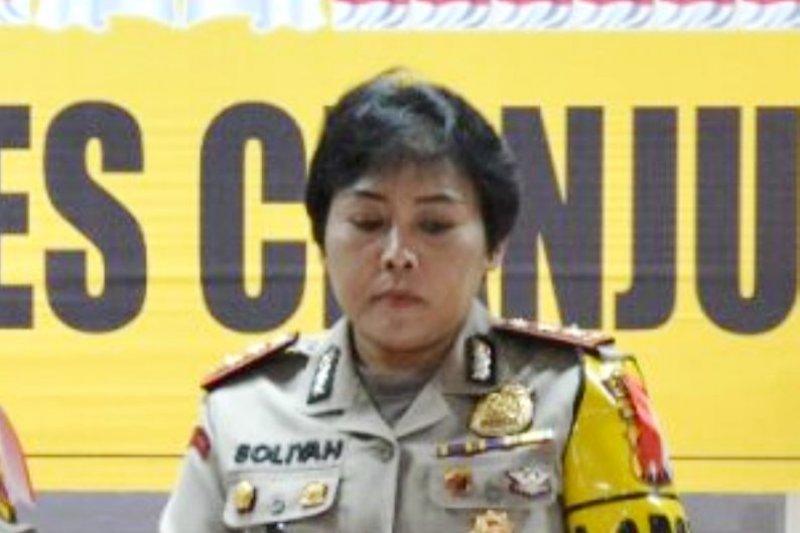Sebanyak 11 pelaku tindak kriminal diringkus Polres Cianjur