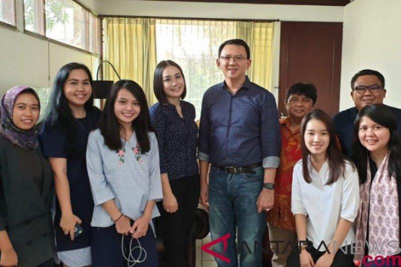 Ahok berharap PDI Perjuangan capai 35 persen suara di  Pemilu 2019