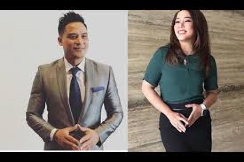 Tomy Tjokro dan Anisa Dasuki moderator debat Capres kedua