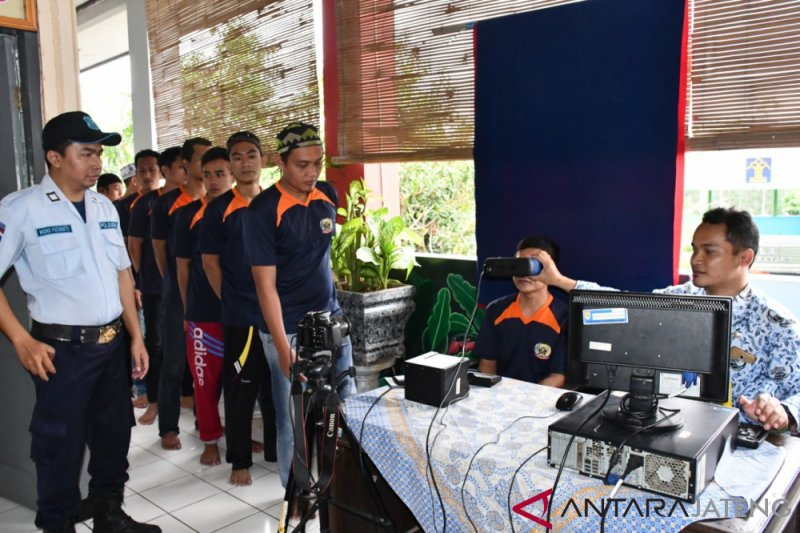19 warga binaan Rutan Batang rekam KTP-el