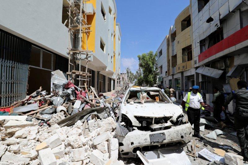 Bom bunuh diri di kantor pemerintahan Somalia tewaskan enam orang