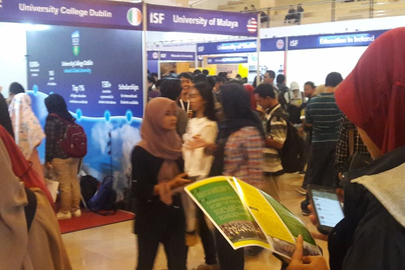 """3.500 orang kunjungi pameran beasiswa """"ISF 2019"""" di UMY"""