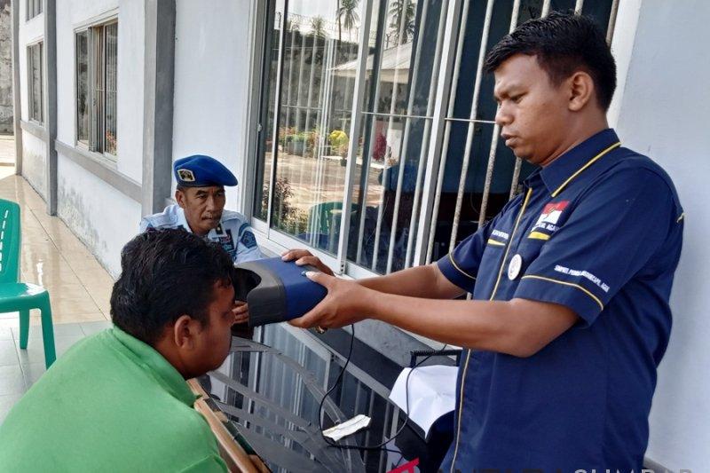 16 warga binaan di Agam terdaftar sebagai pemilih pemilu