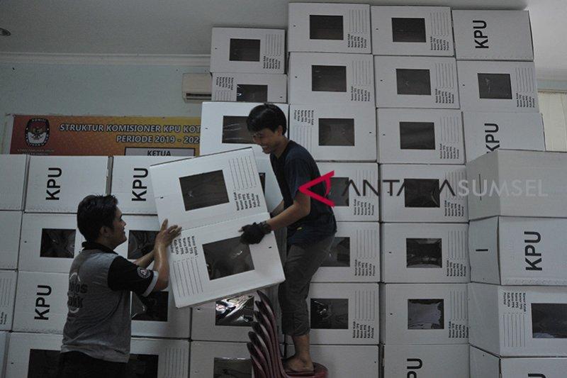 KPU Palembang rakit kotak suara Pemilu