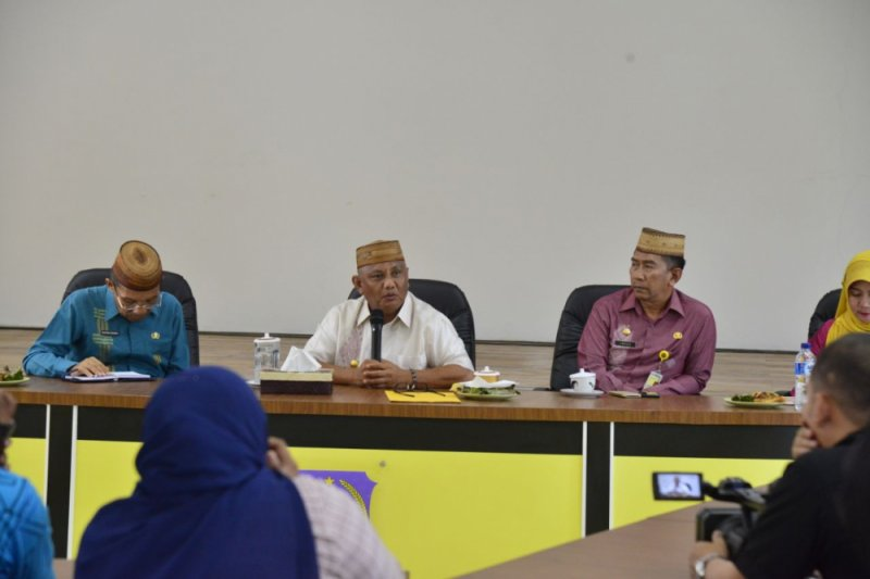 Gubernur Gorontalo beri masukan kepada Caleg DPR RI terpilih