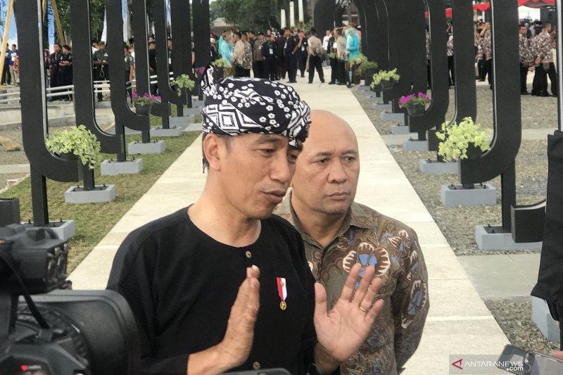 Alun-alun Cianjur baru diresmikan sejumlah fasilitas sudah dirusak