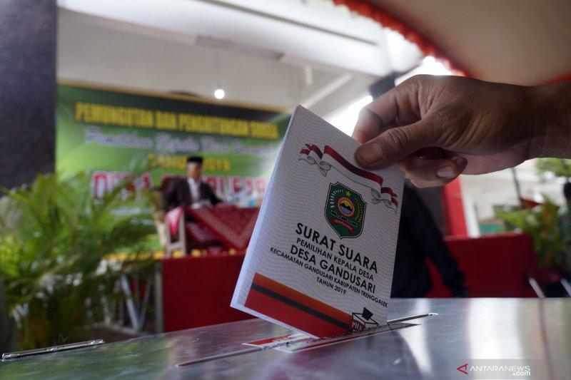 Pilkades Serentak Di Trenggalek Antara News Sumatera Barat