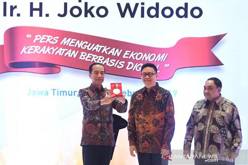 Puncak HPN 2019, Presiden Jokowi terima Medali Kemerdekaan Pers