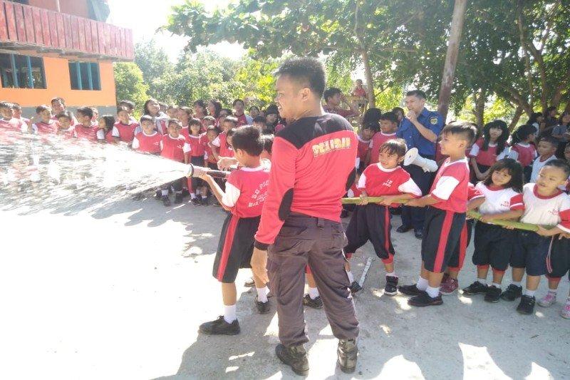 Masyarakat Gumas diberikan edukasi kebakaran sejak dini