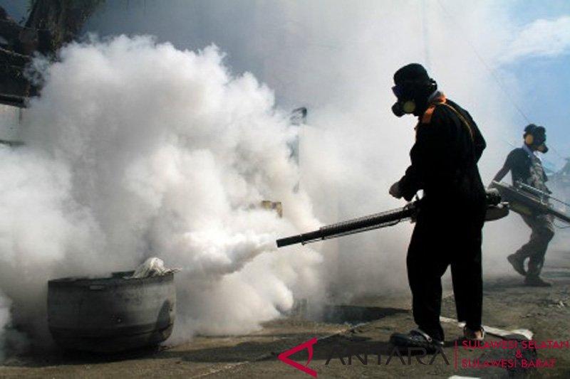 Dinkes Mamuju lakukan fogging waspadai DBD
