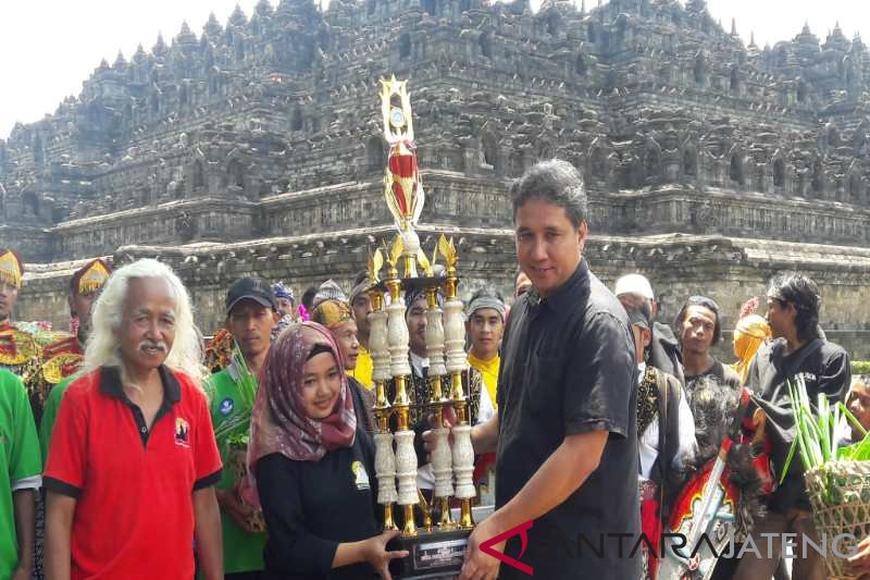 Ruwat Rawat Borobudur dapat tiket Pekan Budaya Nasional