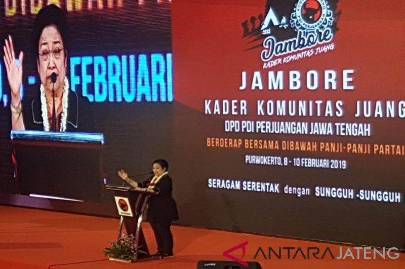 Megawati: Kader PDIP jangan ada yang menebar kebencian