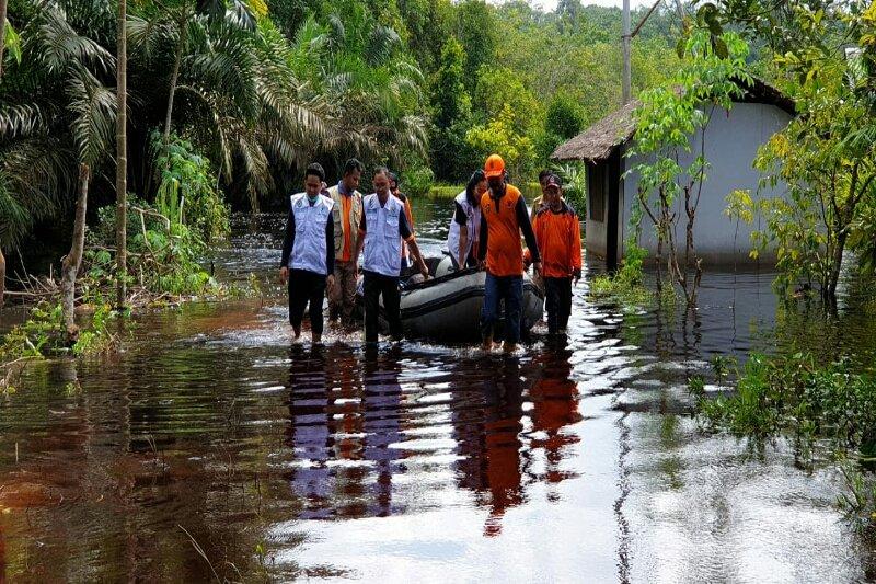 Tim gabungan bantu korban banjir Kotim