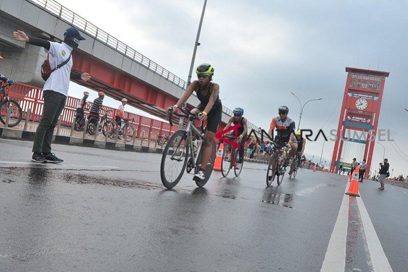 Ampera ditutup sementara demi Palembang Triathlon