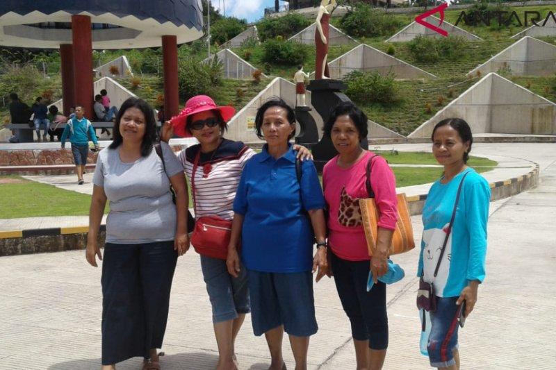 Bendungan Raknamo diserbu wisatawan lokal