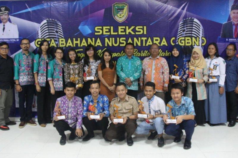 Empat remaja wakili Barito Utara audisi GBN Kalteng 2019