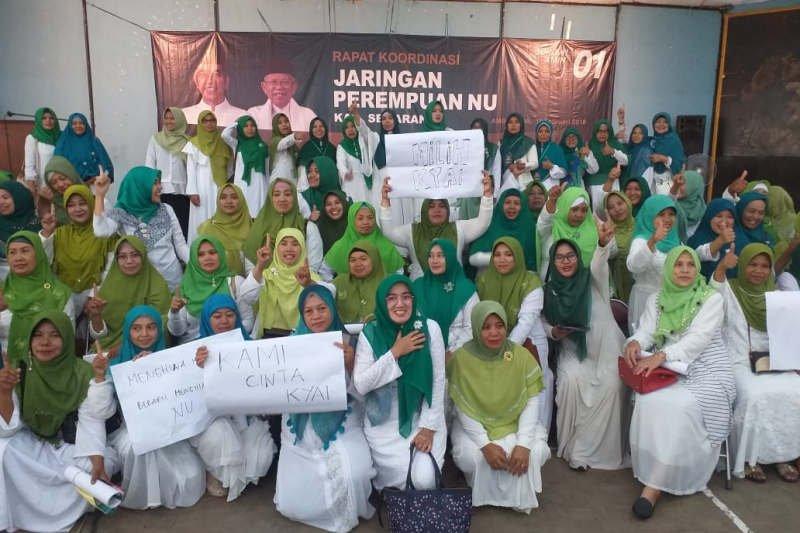 Perempuan NU didorong manfaatkan teknologi informasi menangkan Jokowi-Amin