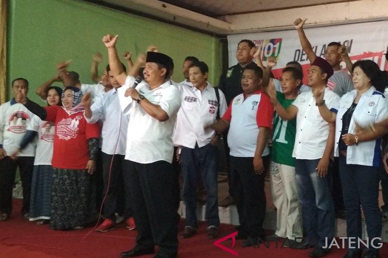 11 elemen masyarakat Kudus deklarasi dukung Jokowi-Ma'ruf