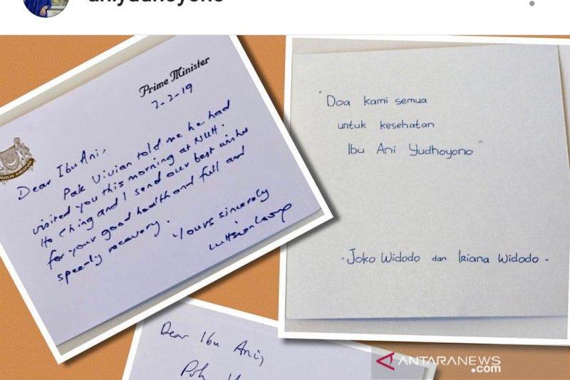 Ani Yudhoyono dirawat di Singapura sejak Sabtu